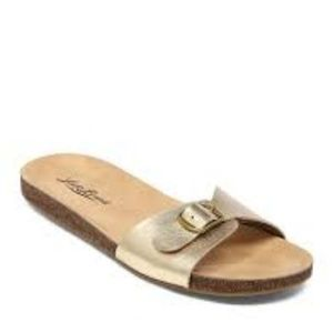 Lucky Brand Shoes - Lucky Brand Dolliee Flat Slide Sandals